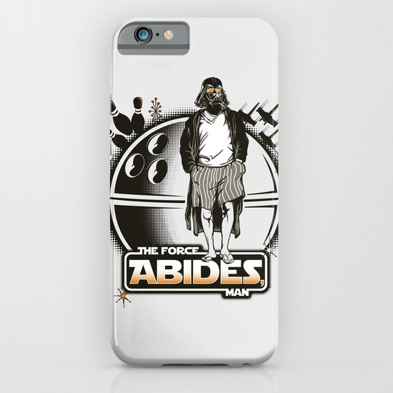 The Force Abides iPhone & iPod Case