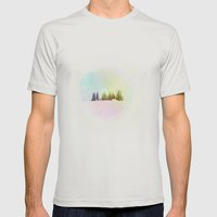 Breathe In The Crystal A… Mens Fitted Tee Silver SMALL