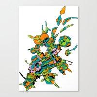 Hiva-01 Canvas Print