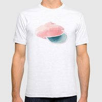 Shell II. Mens Fitted Tee Ash Grey SMALL