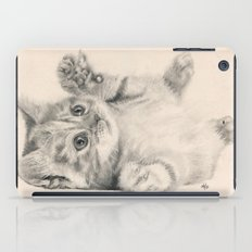 Rub my belly... iPad Case