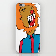 lion color iPhone & iPod Skin