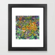 Yardage Framed Art Print