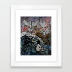 Feet of Crows Framed Art Print