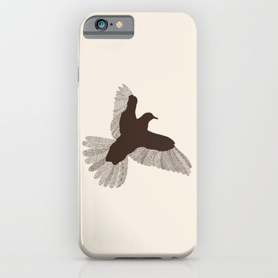Bird (On Beige) iPhone & iPod Case