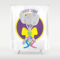 Spoonie Strong Shower Curtain