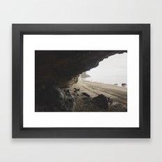 Ocean Cave Framed Art Print