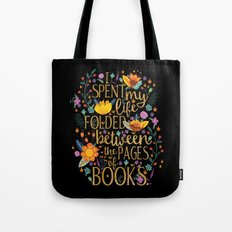 Folded Between The Pages… Tote Bag