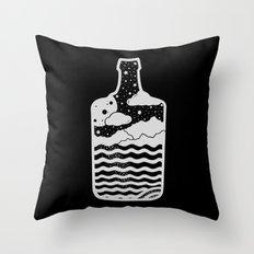 MOONSH/NE Throw Pillow
