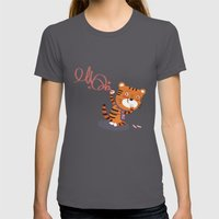 Oops!! Womens Fitted Tee Asphalt SMALL