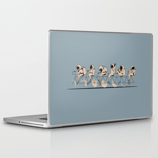 The Great Lunar Cycle Laptop & iPad Skin
