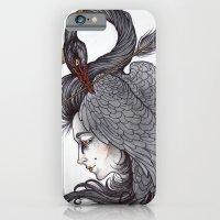 Swan Song art print iPhone 6 Slim Case