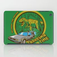 Travel in Time iPad Case