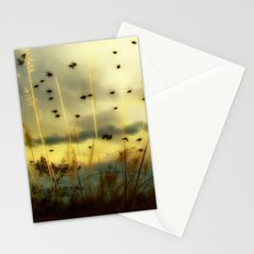 Bird Sunset Stationery Cards