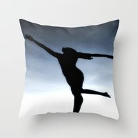Dance To The Light Fanta… Throw Pillow