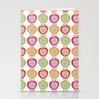 Juicy Apples Stationery Cards