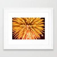 Fireworks - Philippines 8 Framed Art Print