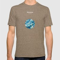 Gemstone - Adamantium Mens Fitted Tee Tri-Coffee SMALL