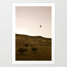 Eastward Bound Art Print