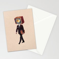 office worker Stationery Cards
