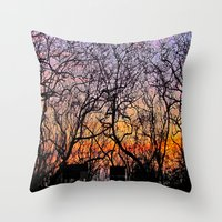 Connections Throw Pillow