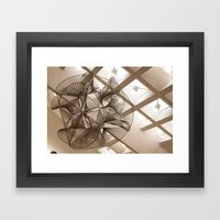 Math Framed Art Print