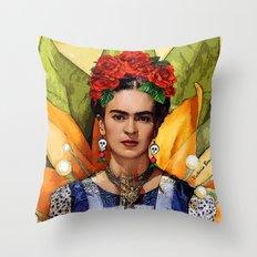 MI BELLA FRIDA KAHLO Throw Pillow