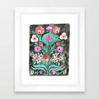 Eve Flower Framed Art Print