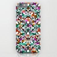 iPhone & iPod Case featuring Aztec Geometric Reflection I by AJJ ▲ Angela Jane Johnston