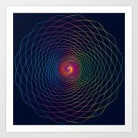 c13 pattern series 057  Art Print