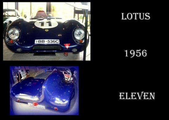 1956 Lotus Eleven  Art Print