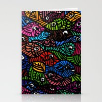Something is Fishy Stationery Cards