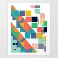 Gumby Does LSD Art Print