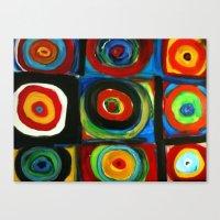 Color Study Canvas Print