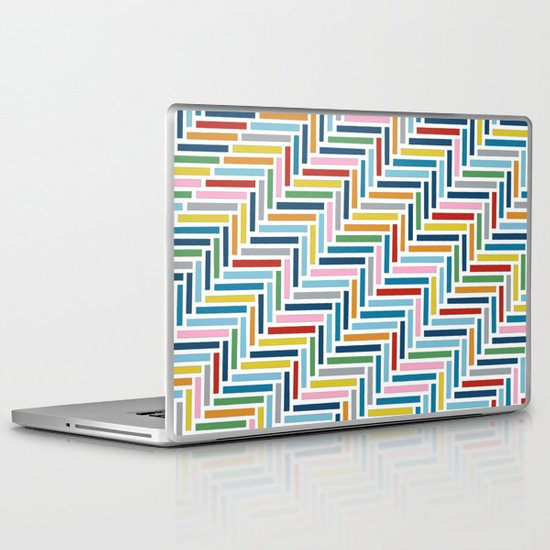 Herringbone 45 Colour Laptop & iPad Skin