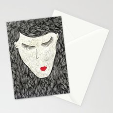 that all elusive peace of mind Stationery Cards