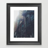 behind the lots Framed Art Print