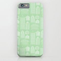 Birdcages (Green) iPhone 6s Slim Case