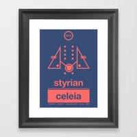 Styrian Celeia Single Ho… Framed Art Print