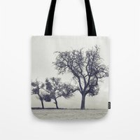 bleak trees... Tote Bag