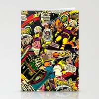 Unexpected - Part III [Final Chapter: Space Riot] Stationery Cards