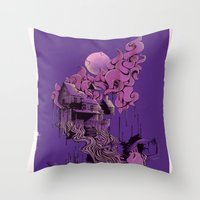 Virgin Throw Pillow