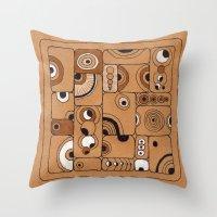 The Tile Throw Pillow