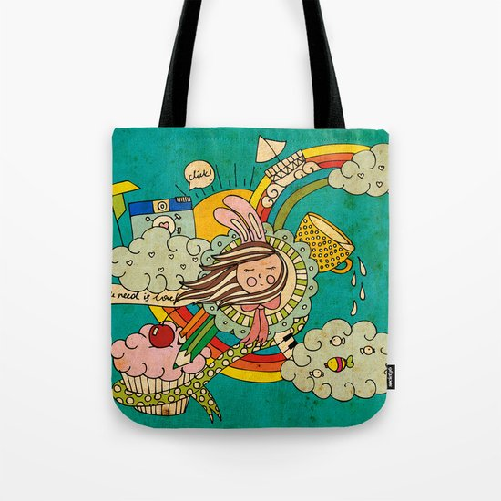 My Story Tote Bag