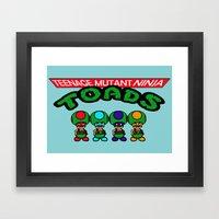 Teenage Mutant Ninja Toa… Framed Art Print