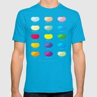 Every emotion beans Mens Fitted Tee Teal SMALL