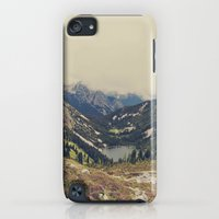 iPod Touch Cases featuring Mountain Flowers by Kurt Rahn