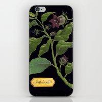 Deadly Nightshade iPhone & iPod Skin