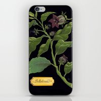 Deadly Nightshade iPhone & iPod Skin