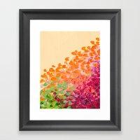 CREATION IN COLOR Autumn… Framed Art Print